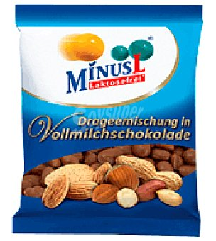 Minus l Frutos Secos Chocolate Sin Lactosa 100 g
