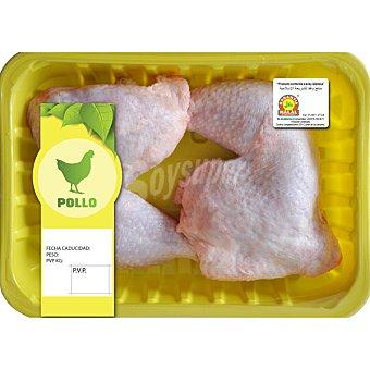 Sada Traseros de pollo halal peso aproximado bandeja 600 g Bandeja 600 g