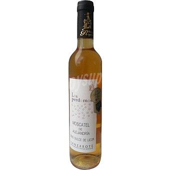 LOS PERDOMOS Vino dulce moscatel de Alejandría D.O. Lanzarote botella 50 cl botella 50 cl