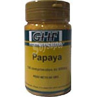 GHF Enzima de papaya Frasco 100 comprimidos