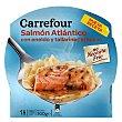 Salmón con pasta 300 g Carrefour