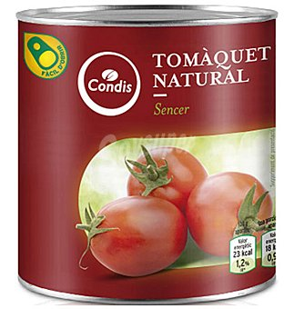 Condis Tomate natural Bote de 480 g