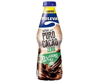 Puleva Batido de cacao sin azúcares añadidos y con 0% materia grasa, edulcorado con stevia zero 1 l
