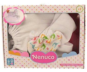 Nenuco Set de ropa interior básica para bebé de 40 a 43 centímetros 1 Unidad