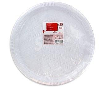 Auchan Platos pizza 32cm 20u