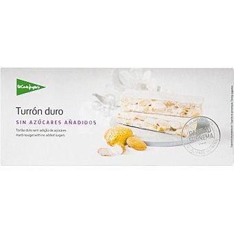 El Corte Inglés Turrón duro sin azúcares añadidos Sin Gluten Calidad Suprema tableta 200 g Tableta 200 g