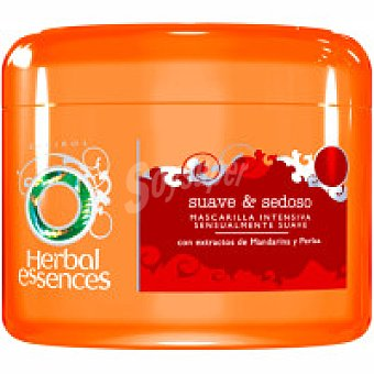 Herbal Essences Mascarilla suave-sedoso Tarro 200 ml