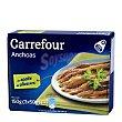 Anchoas en aceite de oliva Pack de 3 unidades de 50 g Carrefour