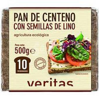 Veritas Pan de centeno-lino 500 g