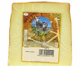 QUESOS FLOR VALSEQUILLO Queso de cabra semicurado ahumado de Canarias 300 gramos