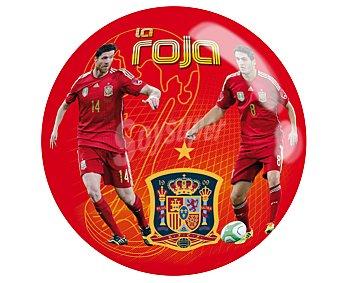SMOBY Pelota infantil de 14 centímetros con diseño de la Selección Española 1 unidad