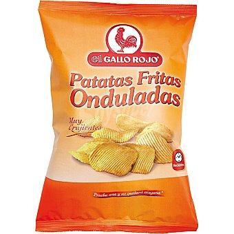El Gallo Rojo Patatas fritas onduladas Bolsa 170 g