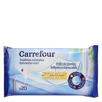 Carrefour Toallitas Limpiacristales 20 ud