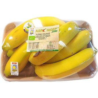 Agrorigen Plátanos ecológicos Bandeja 1 kg