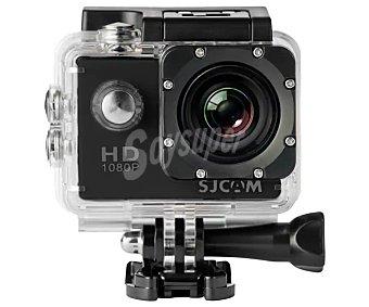 SJCam Videocámara deportiva full HD, 12 Megapixeles, resistente al agua, hdmi, usb, color negro SJ4000