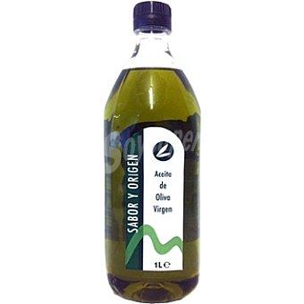 SABOR Y ORIGEN Aceite de oliva virgen Botella 1 l