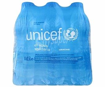 UNICEF Aguan Mineral 6 x0.50 L