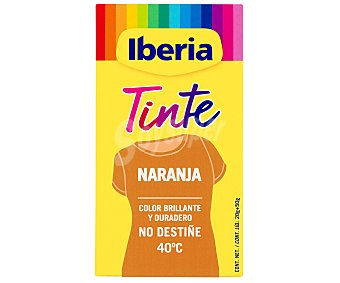 Iberia Tinte ropa naranja Caja 20 g