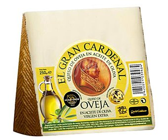 Gran Cardenal Queso oveja oliva curado 1 unidad (250 g)