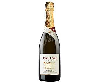 Martín Códax Vino blanco albariño espumoso con denominación de origen Rías Baixas martin códax botella de 75 cl. Botella de 75 cl