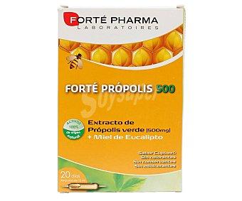 Forte Pharma Extracto de própolis verde con miel de eucalipto en ampollas bebibles forte pharma 20 uds