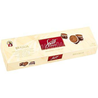 Swiss delice Brasilia bocaditos de merengue recubiertos de chocolate estuche 100 g Estuche 100 g