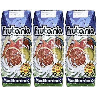 FRUTANIA Mediterráneo Zumo de frutas Pack 3 envase 250 ml
