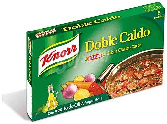 Knorr Caldo de Carne Caja de 8 pastilla