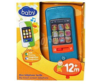 Baby Mi primer teléfono smartphone infantil, con luces y sonidos 1 unidad