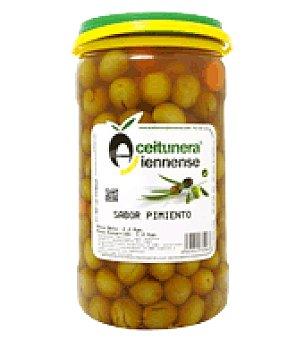 Aceitunera Jiennense Aceituna sabor pimiento 1,2 kg
