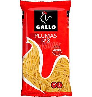 Gallo Pasta seca plumas Nº3 Paquete 250 gr