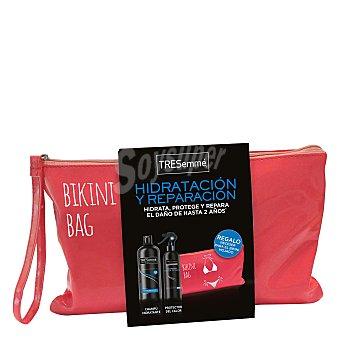 Tresemmé Pack neceser Hidratación y Reparación (champú 500 ml. + protector de calor 300 ml.) 1 ud