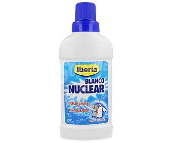 Iberia Quitamanchas+blanqueador blanco nuclear líquido 500 ml