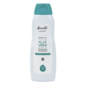 Bonté Gel de ducha aloe vera regenerante piel normal Bote 750 ml