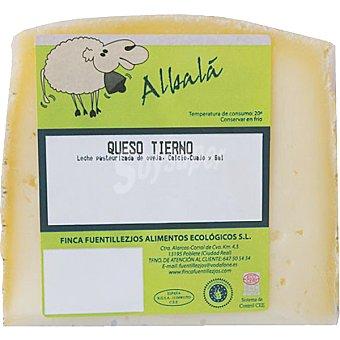 ALBALA Queso ecológico oveja tierno  250 g (peso aproximado pieza)