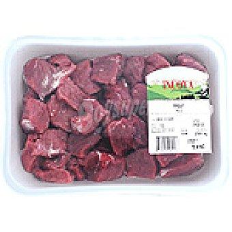 INCOVA Carne magra troceada / ragout de añojo para guisar Bandeja 550 g