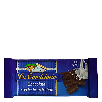 La Candelaria Chocolate con leche Tableta 150 g