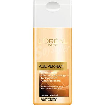 Age Perfect L'Oréal Paris Tónico fresco alisador y anti-fatiga piel madura frasco 200 ml Frasco 200 ml
