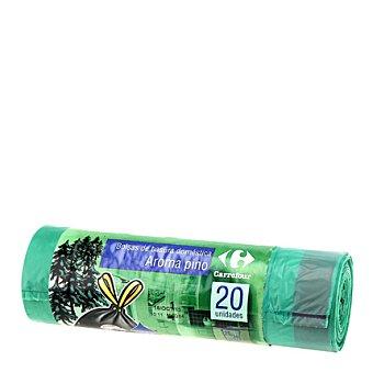 Carrefour Bolsa basura 30 L pino autocierre 20 bolsas