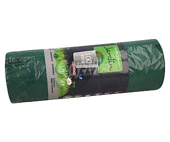 Auchan Bolsa de Basura para Jardín (100 L) 10 bolsas