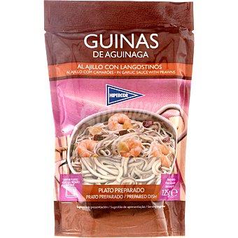 Hipercor Guinas de Aguinaga al ajillo con langostinos estuche 125 g Estuche 125 g