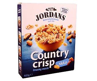 Jordans Cereales muesli integral con almendras, nueces y avellanas 400 gr