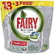 Lavavajillas máquina Bolsa 18+3 dosis Fairy Platinum
