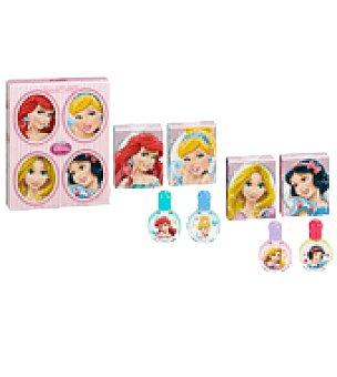 Disney Set de colonia princesas 4 miniaturas pack de 4x7 ml