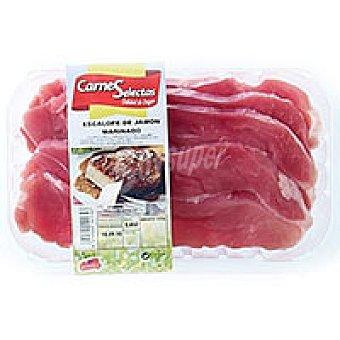 CARNES SELECTAS Escalope de jamón marinado 1,0 kg