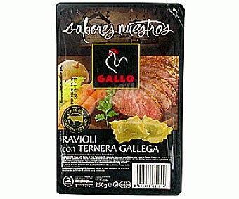 Gallo Ravioli Ternera (pasta Fresca) Sabores Nuestros 250g