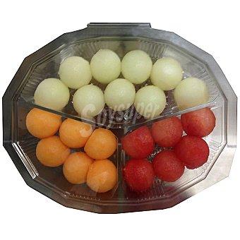 bolas de melón y sandía tarrina 350 g