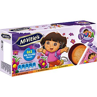 MCVITIE'S galletas Dora con chocolate  paquete 150 g