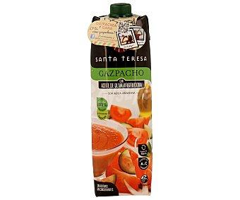 Santa Teresa Gazpacho de tomate rama con aceite de oliva virgen extra Envase 1 l