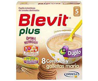 Blevit Blevit Plus Papilla 8 Cereales con Miel y Galleta 600 g